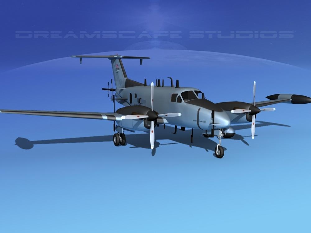 Beechcraft RC-12Q Huron V01