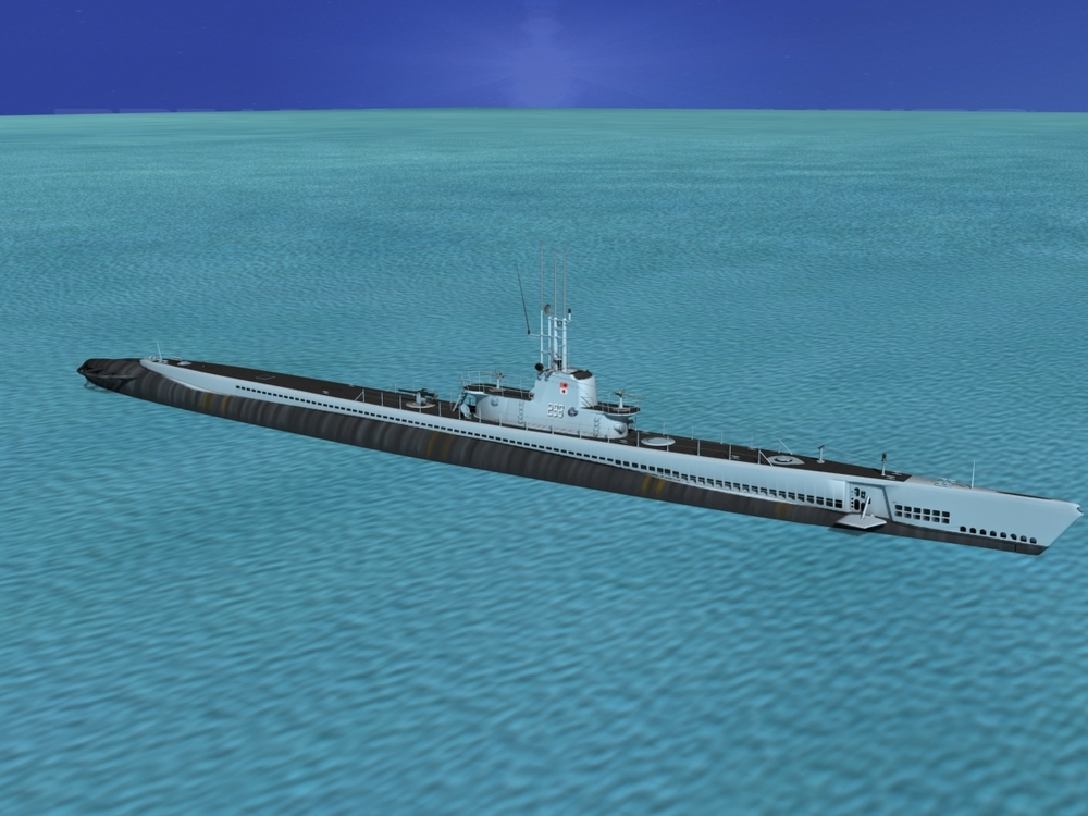Balao Class Submarine USS Lionfish SS298 VHP