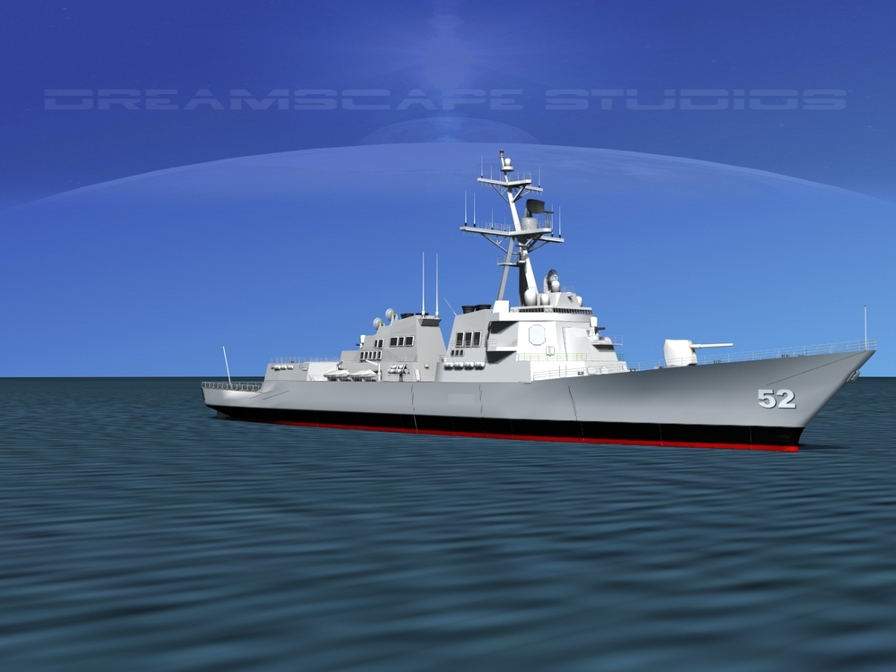 Burke Class Destroyer DDG 52 USS Barry
