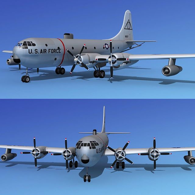 Boeing KC-97 #boeing #boeinglovers #boeingfans #boeingpilots #aircraft #militaryaircraft #dreamscape3dmodels #3daircraft #planes #planegeek #3dartist #dreamscapestudios #aviationlovers #militaryplane #usaf #instaplane
