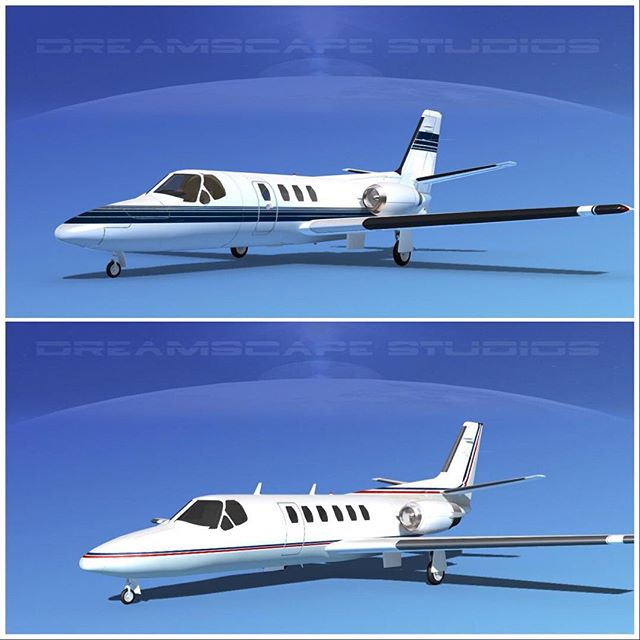 Cessna 500 Citation I and II #cessna #cessnacitation #cessnalovers #cessnaaircraft #cessnapilot #plane #airplane #dreamscape3dmodels #dreamscapemodels #aircraft #3dart #privateaircraft #planelovers #planespotting #pilotlife  #airplane_lovers #airplane_pictures #planes #cessna500 #3dartist