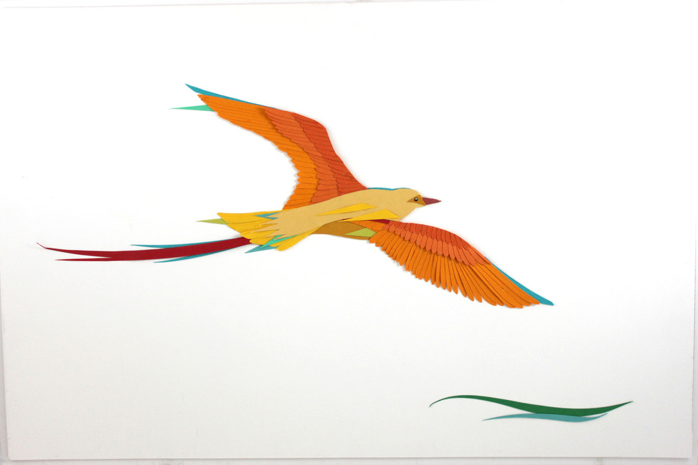 "Golden Bird   20 x 30""   SOLD"