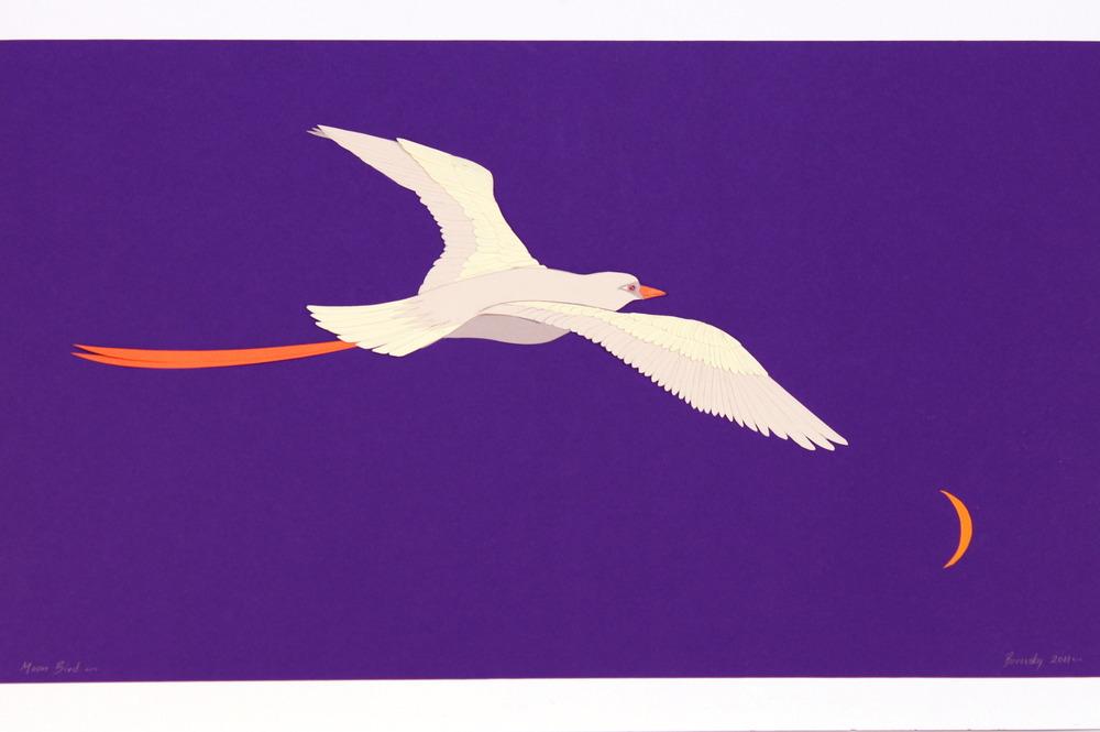 """White Bird    22x 14""""                    $550"""
