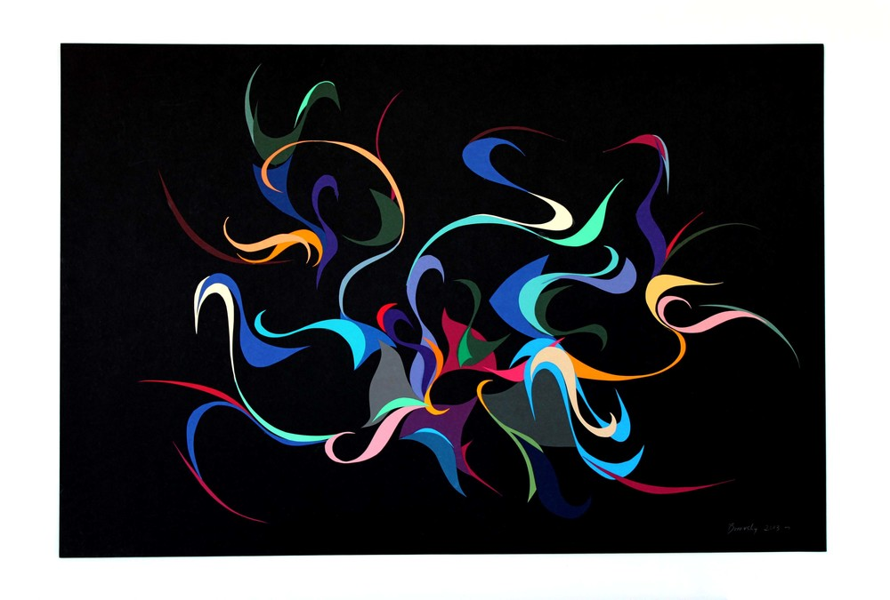 Swirl Abstraction    36 x 24        SOLD