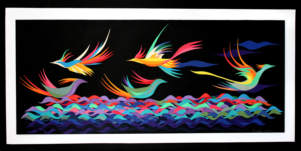 Ducks Taking Flight $475