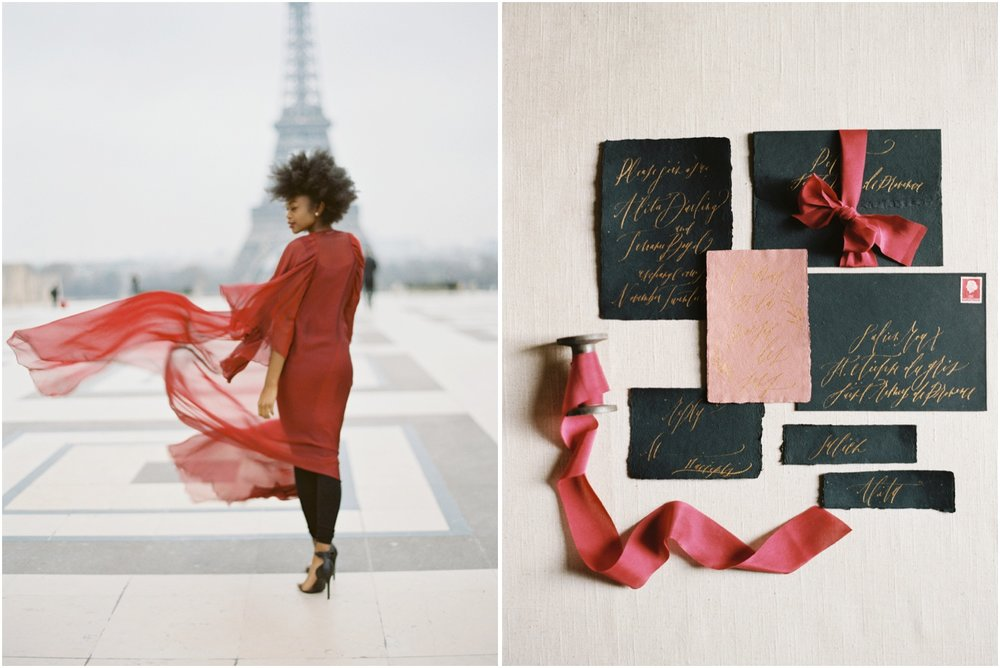 Paris film wedding photographers