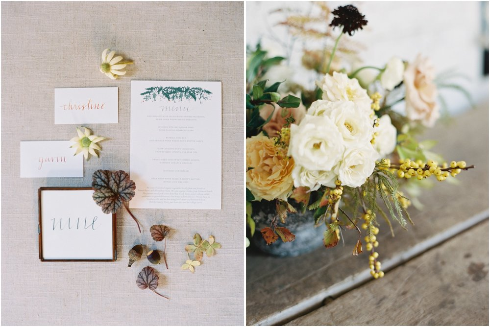 Refined Rustic Wedding Inspiration