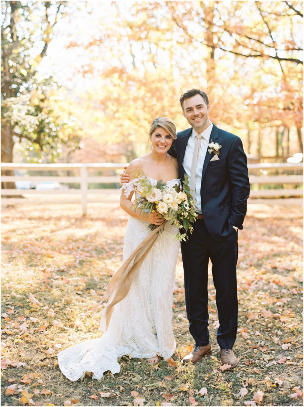 Perfect Fall Nashville Wedding