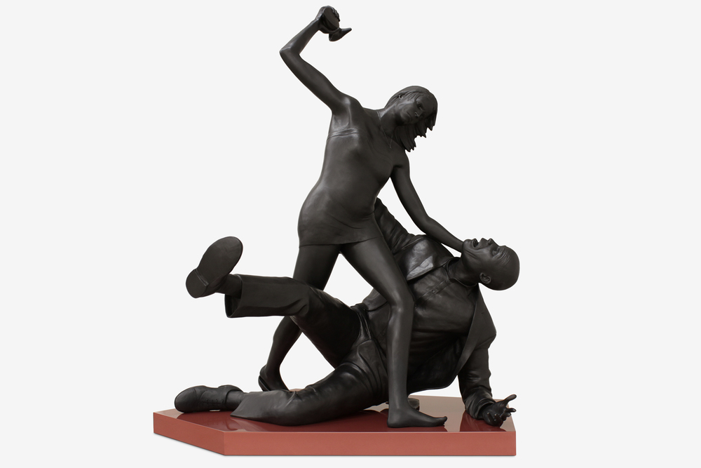 Tom Price, The Ground You Walk On, 2013, Bronze, 71 x 65 x 85 cm [detail].jpg