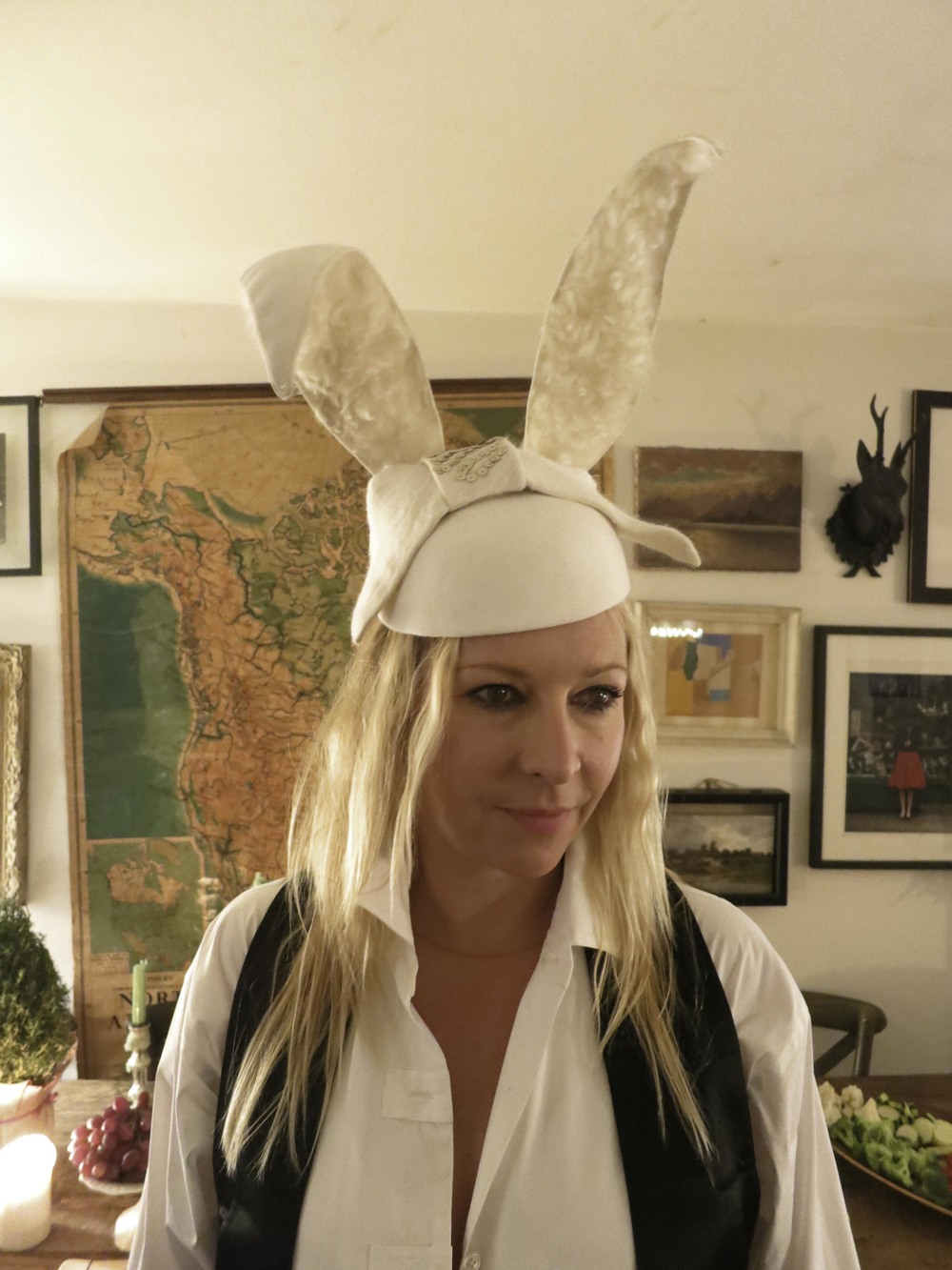 The gorgeous Victoria Sullivan in Bunny Ears Hat