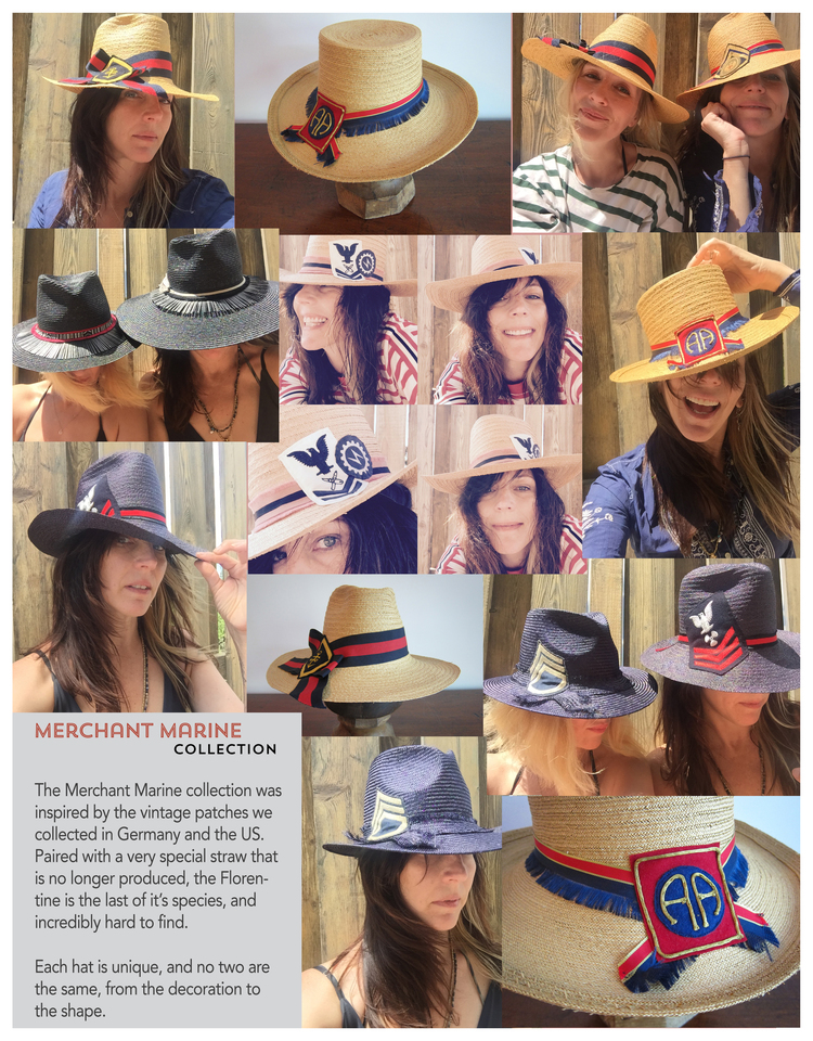 Merchat Marine Collection — marine   deerfield handmade hats 00576b452f5