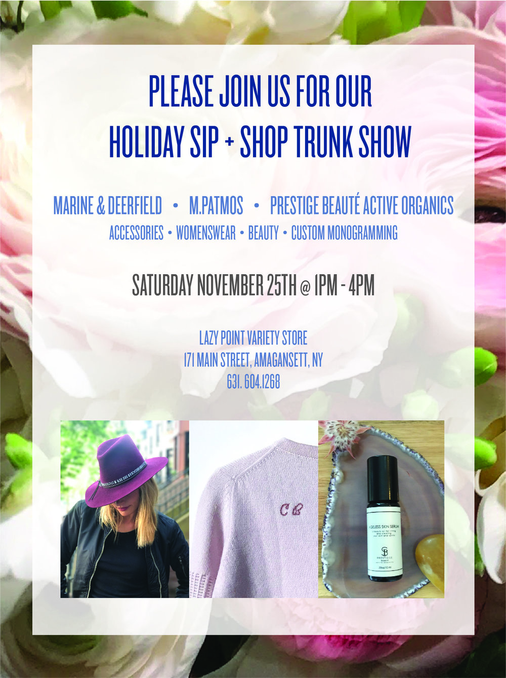 Lazy Point Trunkshow Invite