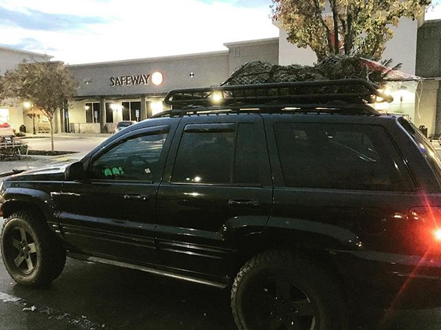 It's not a 12 foot tree and Jeep in the snow shot, but it is some fine Christmas Mall Crawlin'. Happy Holidays All!