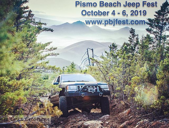 Mark your calendars and spread the word for the 6th Annual Pismo Beach Jeep Fest! We look forward to seeing more rocks, sand, sun and Jeeps than ever.