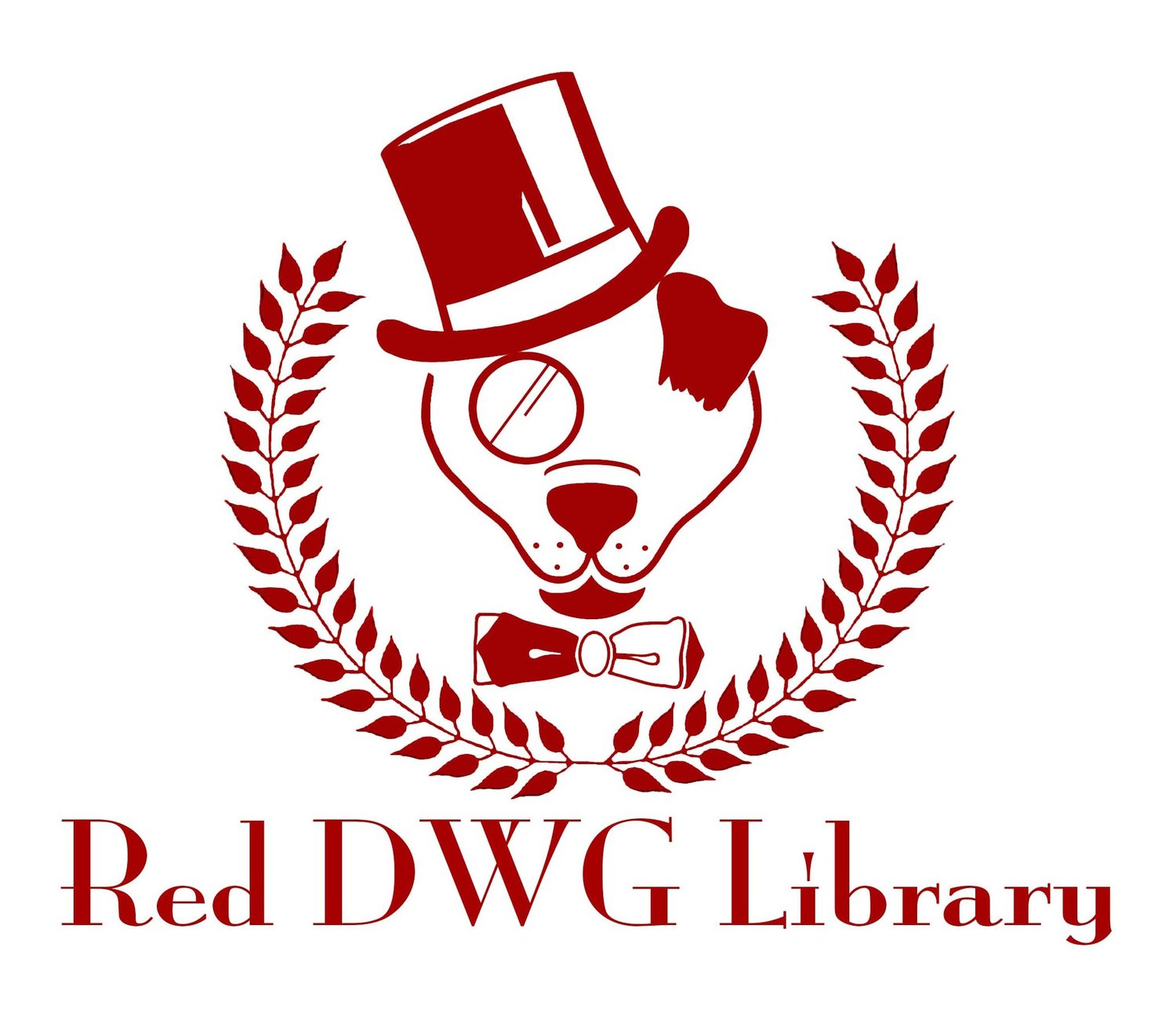Red DWG Library