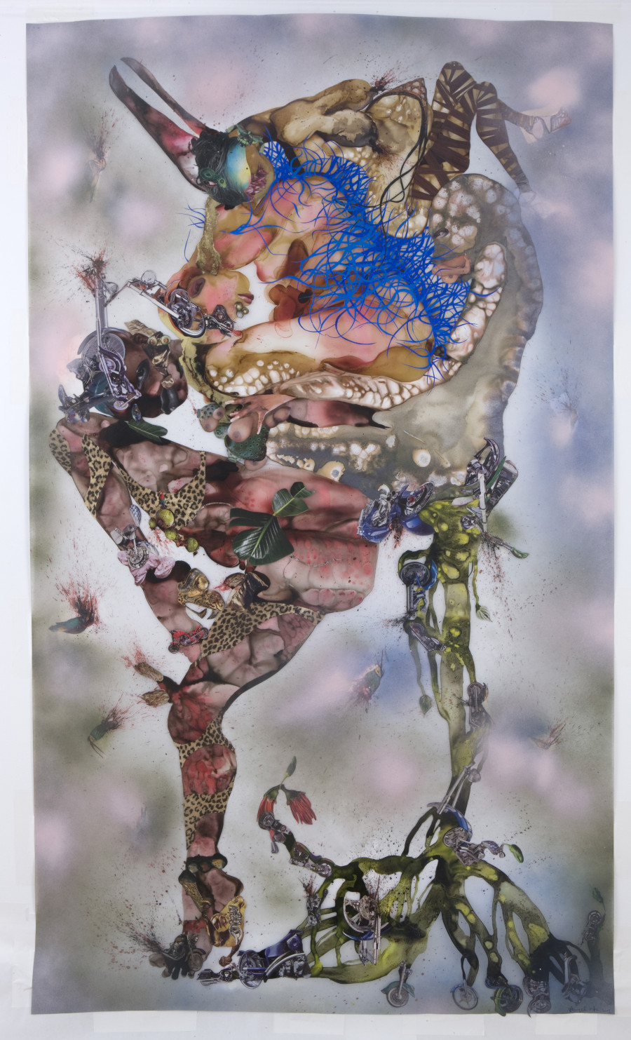 Wangechi Mutu, This you call civilization?, 2008. Courtesy of the artist and Susanne Vielmetter Los Angeles Projects
