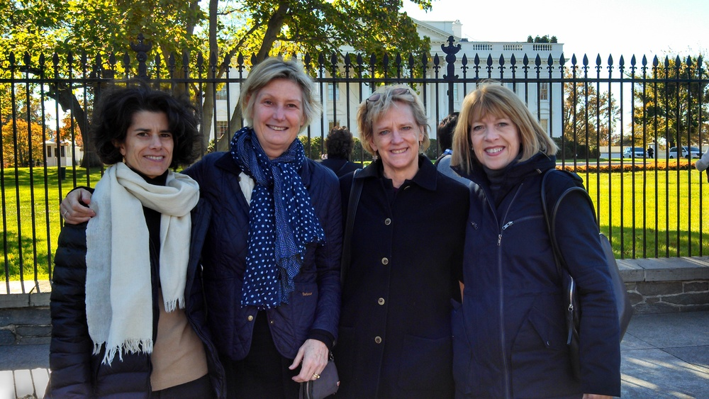 From Left: Nancy Princenthal, Sue Scott, Eleanor Heartney and Helaine Posner