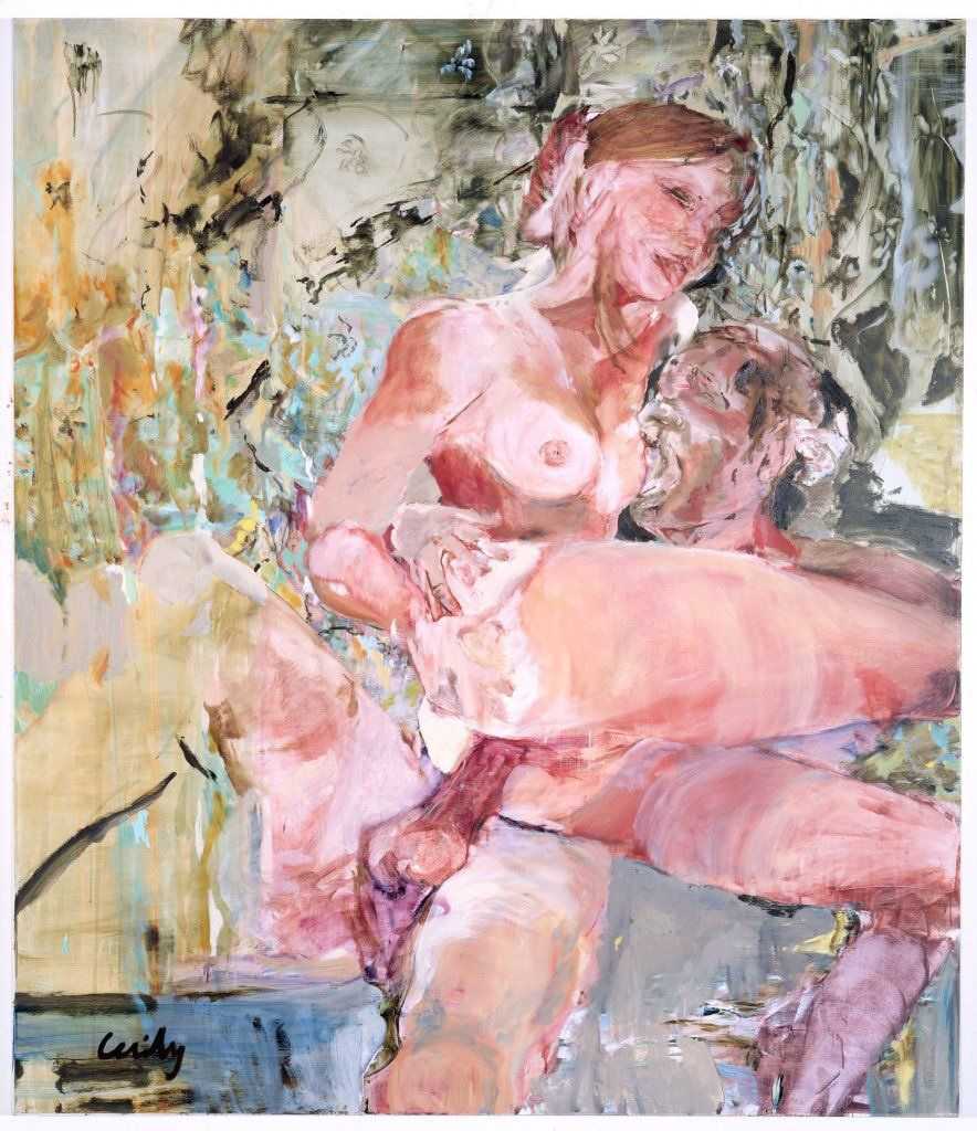 "Cecily Brown, ""Sweetie,"" 2001."
