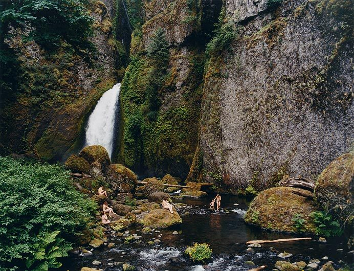 "Justine Kurland, ""Waterfall, Mama Babies"" (2006)"