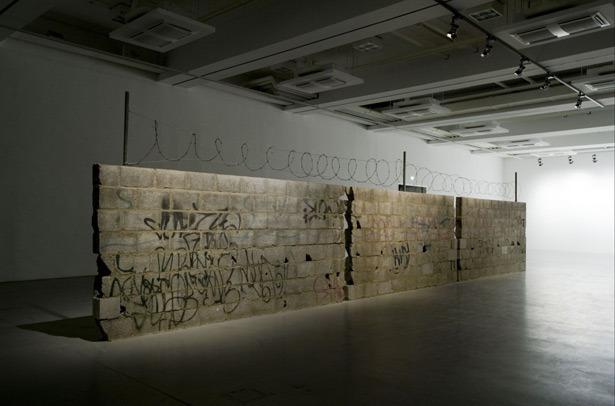 "Teresa Margolles, ""Muro Ciudad Juárez,"" (2009)"