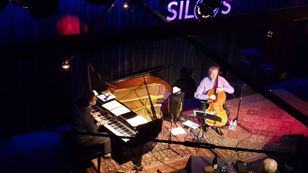 Ken Cook, piano, with Mark Summer at Silos, Napa, Calif., in 2016. Photo credit: Silos, Napa.