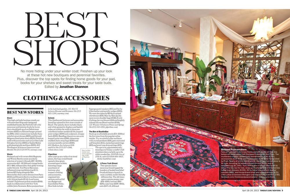 Best Shops 2013