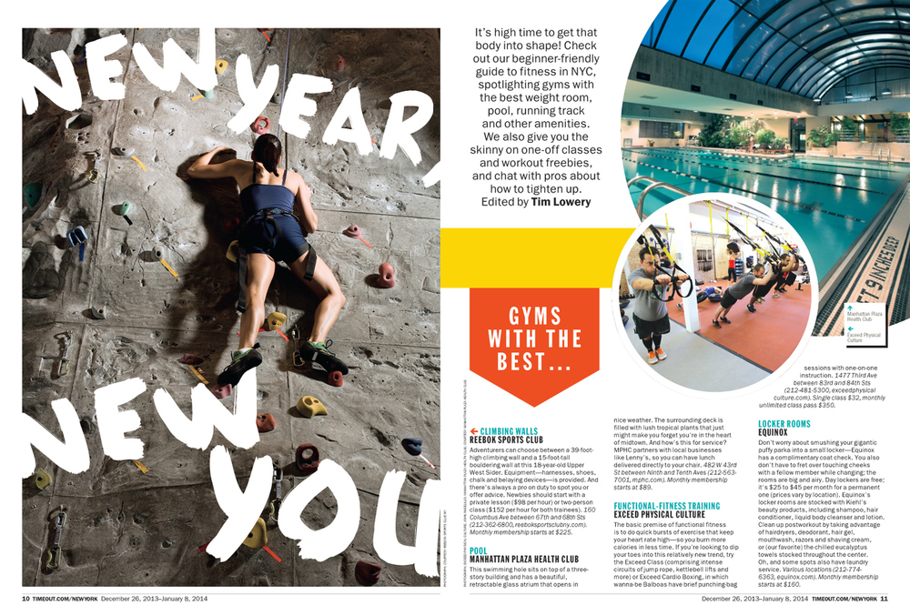 New Year, New You / Fitness Feature
