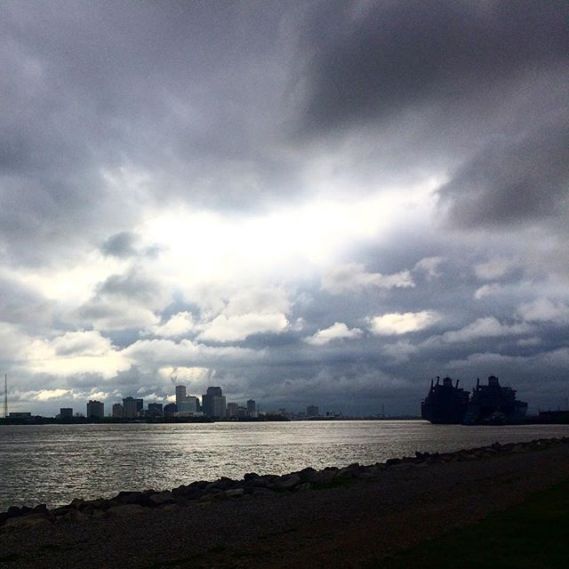 Levee walks. So beautiful my heart aches. #neworleans #afterthestorm #inlovewiththisplace #lowerninthward #eastersunday