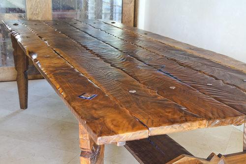 Walnut kitchen table black sand furniture walnut kitchen table workwithnaturefo