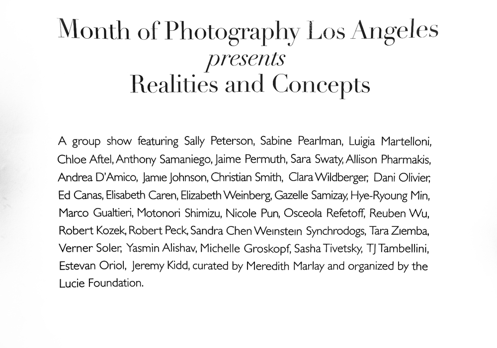 """Realities & Concepts"""