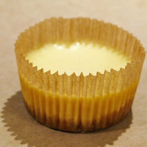 Plain Cheesecake Cupcake