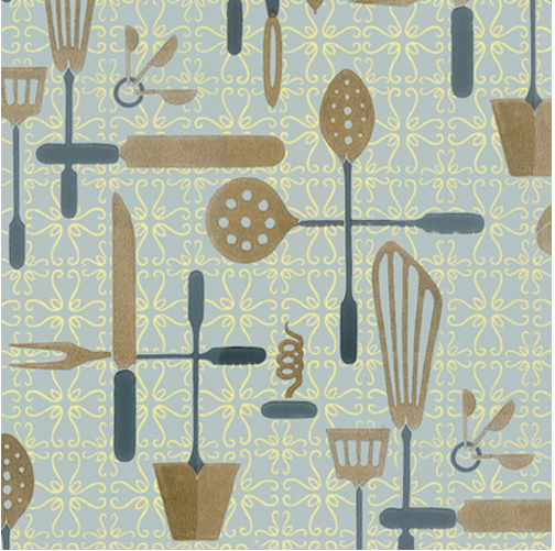 Currently Craving Kitchen Utensil Graphic Patterns