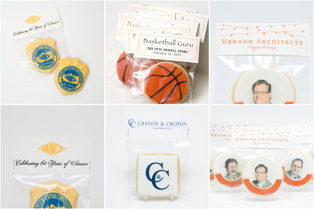 Corporate Favor Tags