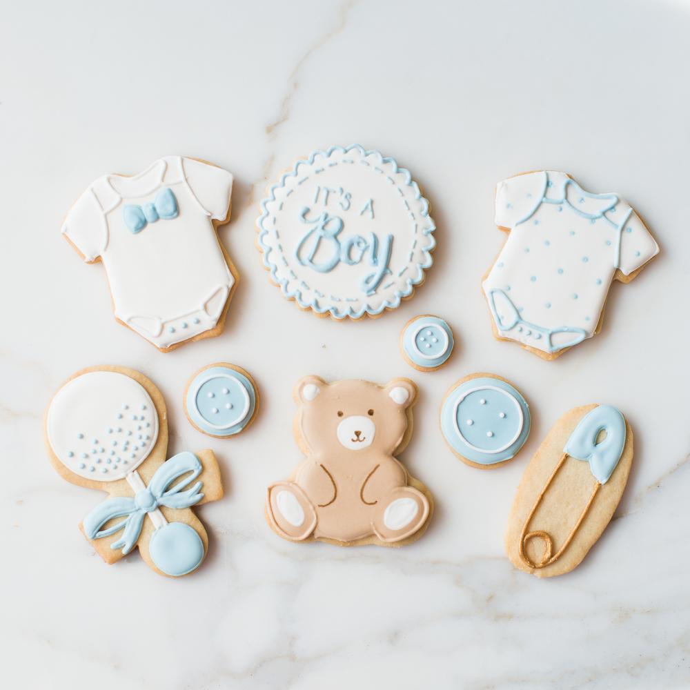 Scallop Stitch Baby Cookie Sweet Kiera