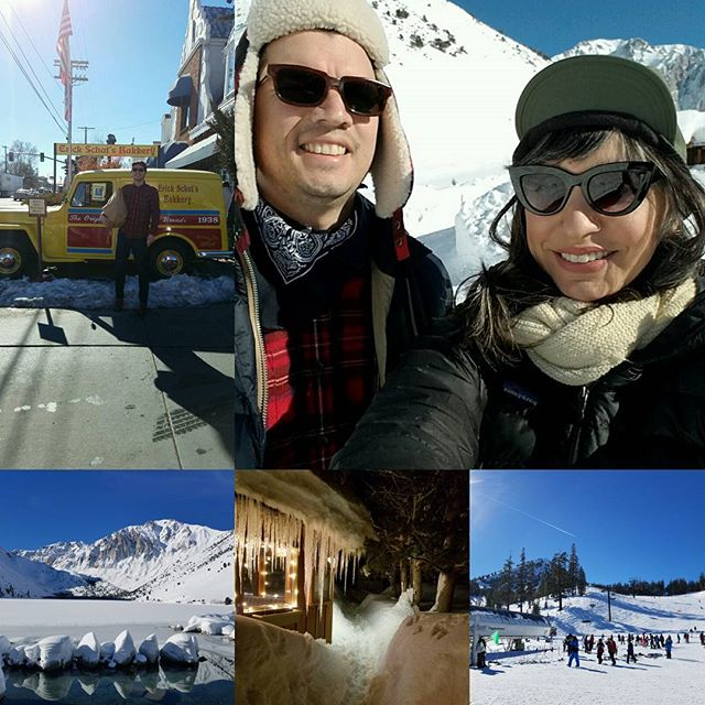 Birthday weekend in Mammoth thanks to @blegoblino  Spent all day playing in the snow and watched Maine pyar kiya at night 😁 best birthday ❤🎂