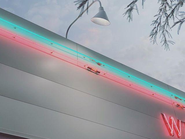 🐬🌸 #neon #sunset #phoenix #phx #downtownphx #arizona #welcomediner #welcome #alfresco