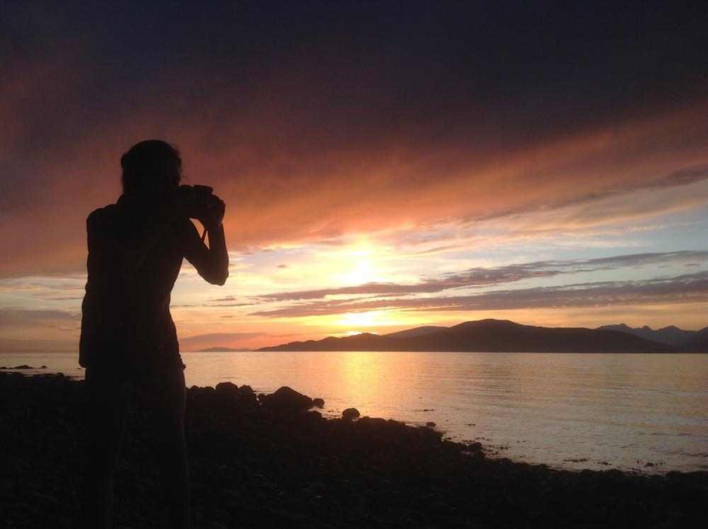 Brenda Kent photographer at Pacific Spirit Park, Vancouver, May 31, 2015