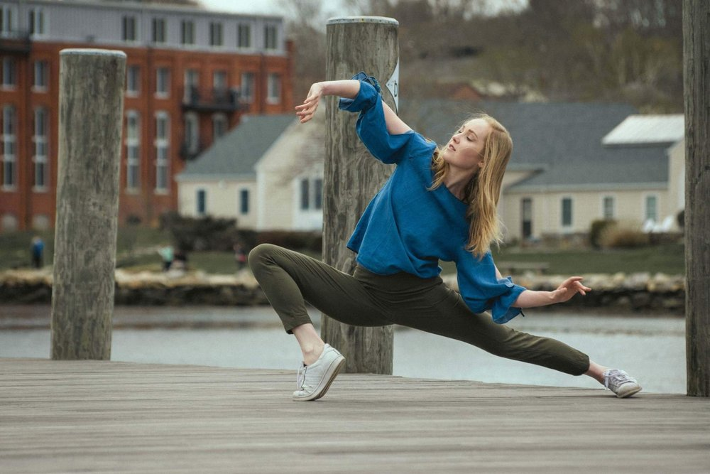 DANCER: SHANNON MAY OF CHALK COLLECTIVE