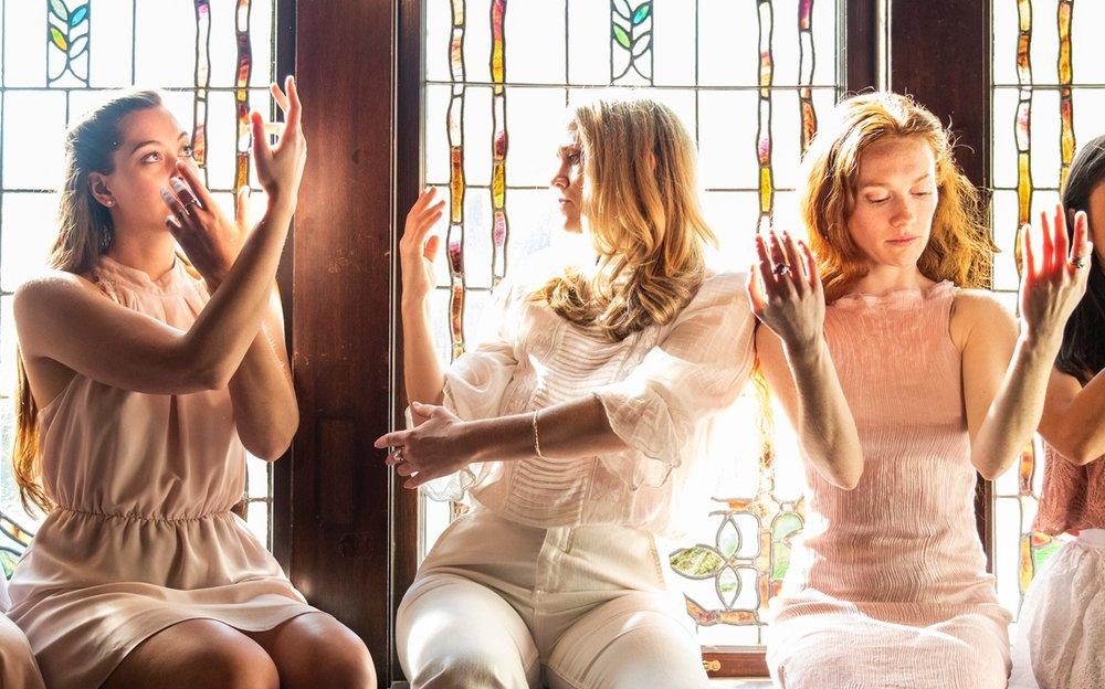 PHOTO: DESIREE DUNBAR, RACHEL HELTEN & CLAIRE-PLUNKETT-BLAZI | EMILY COOPER PHOTOGRAPHY