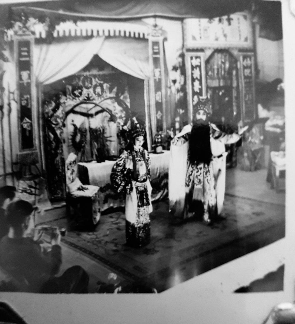 Photo of Vancouver Chinatown, Chinese Opera from Garrick Jang's family album