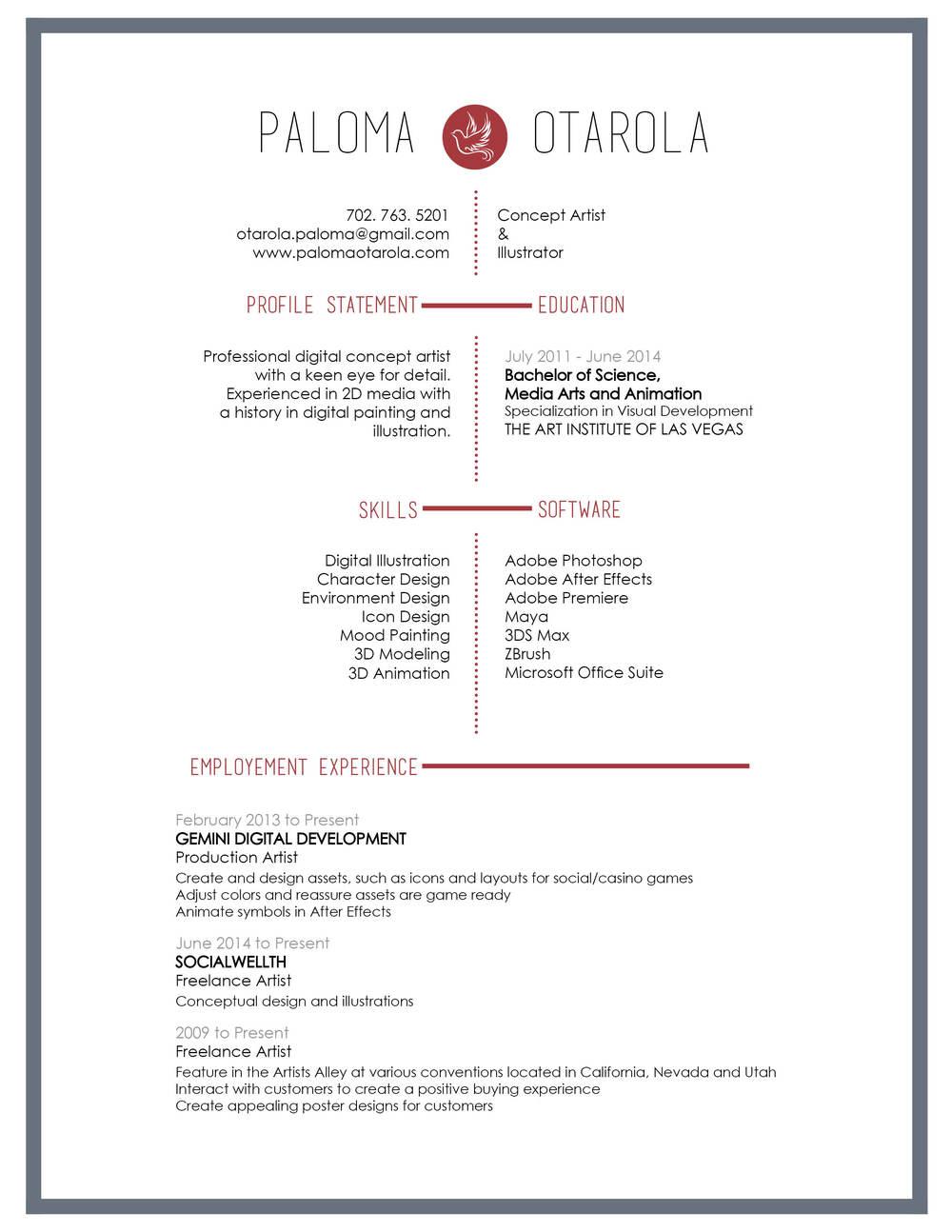 resume format artist worksheet printables site