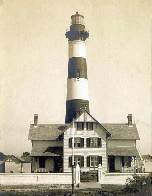 Click for light house history