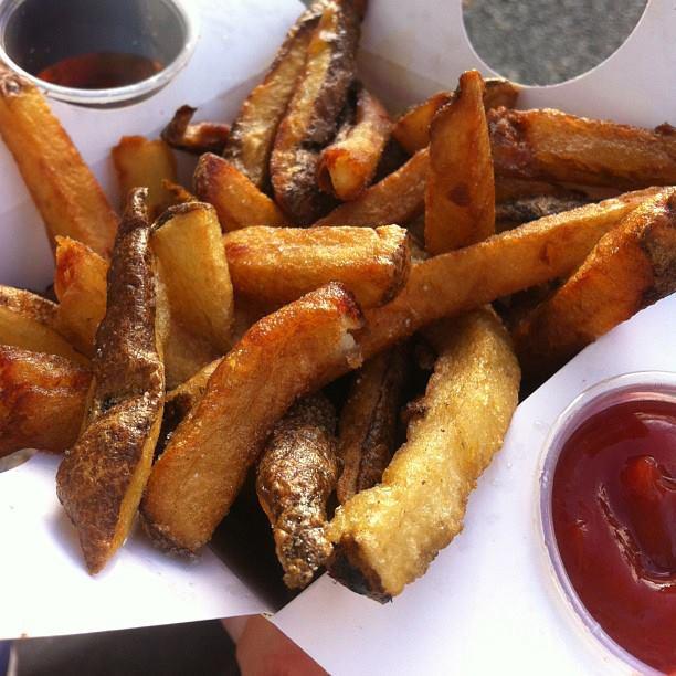 White Potato Fries