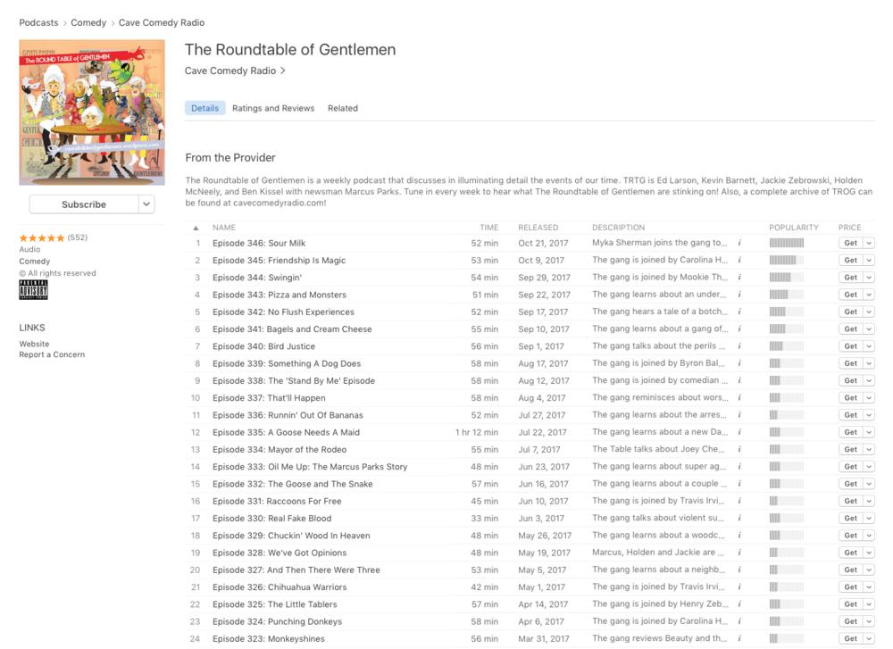 5-stars ***** on iTunes