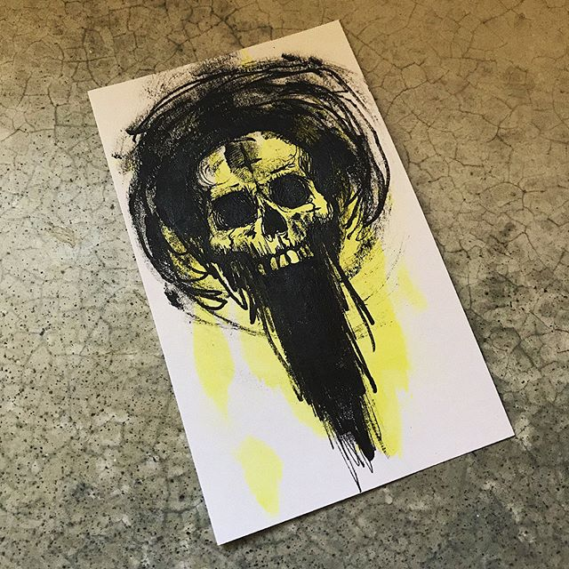 mindfulness #skulloscope #skull #illustration