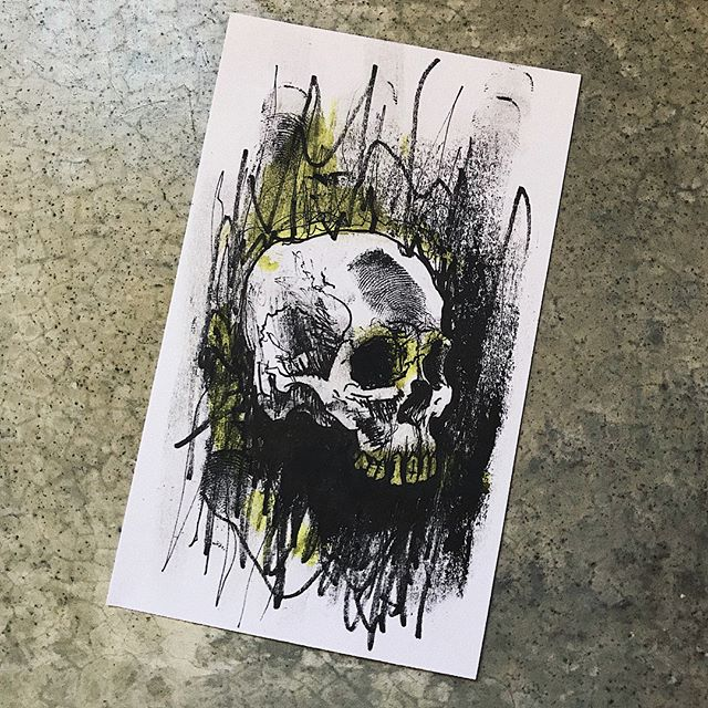 masscult . . . #skulloscope #skull #illustration #inktober
