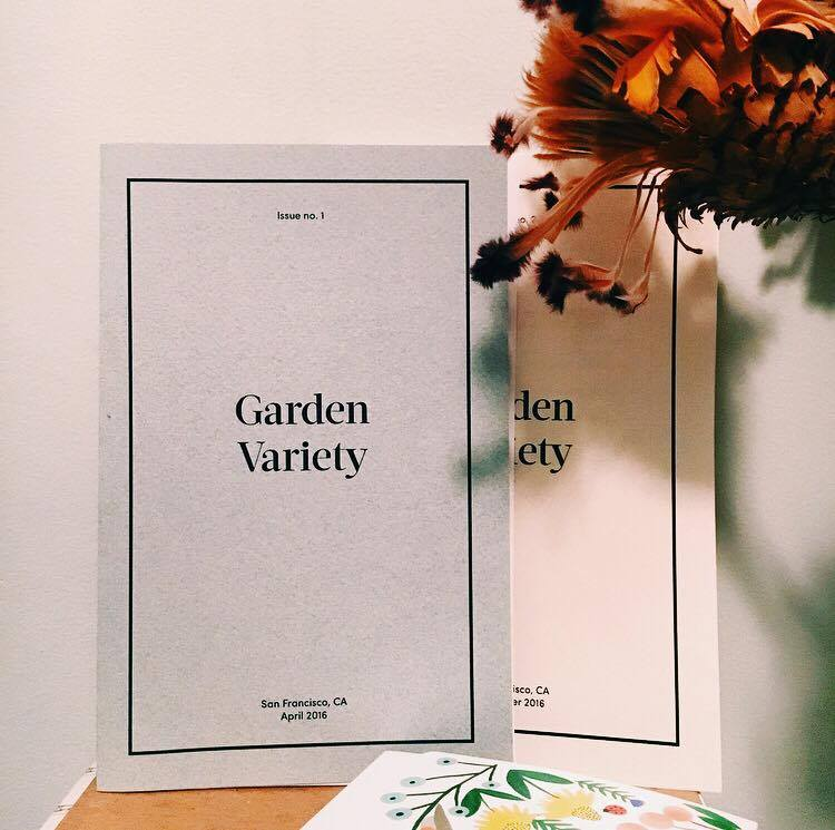 Garden Variety Zine, Issues 1 & 2. Light reading.