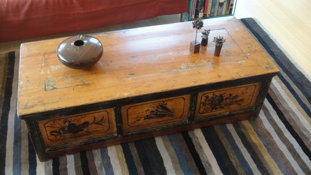 low tibetan table