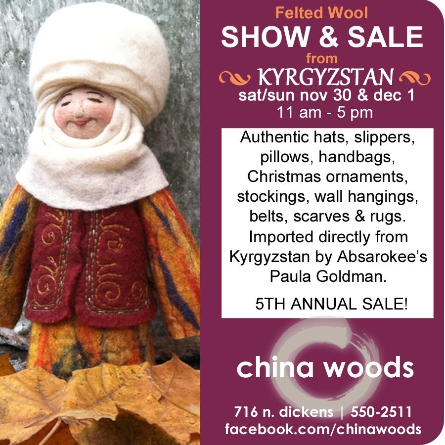 annual kyrgyzstan felt show