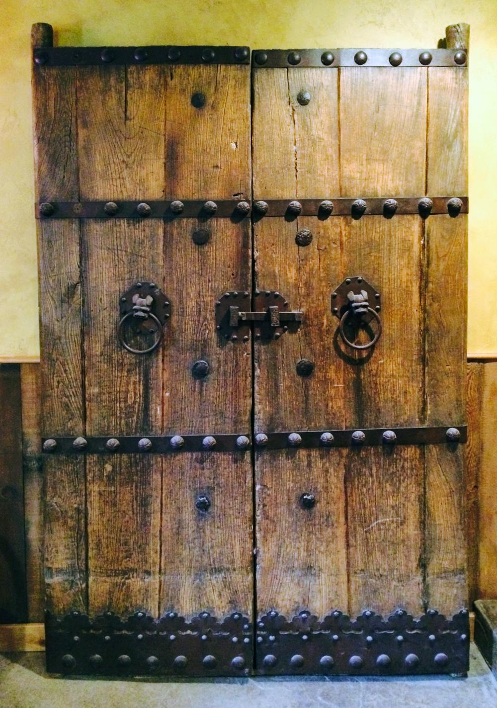 Doors awaiting installation
